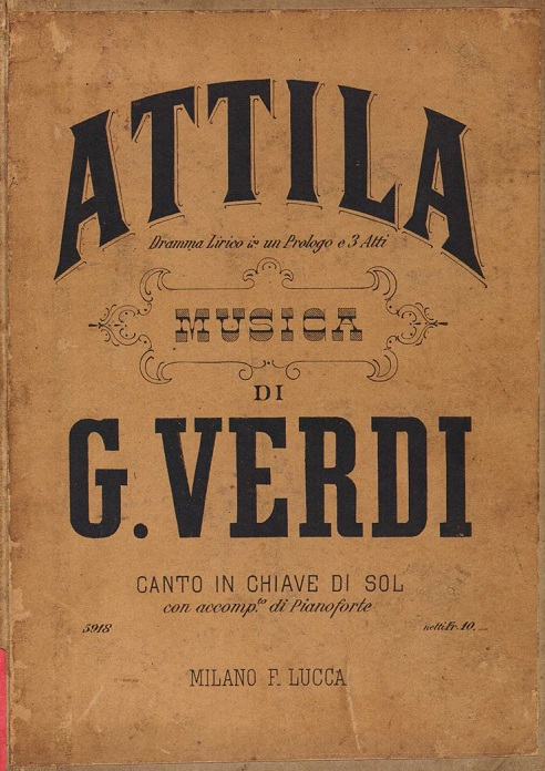 Дж. Верди – «Аттила», опера в концертном исполнении